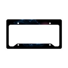 Supernova in galaxy NGC 1300 License Plate Holder