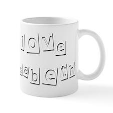 I Love Elisabeth Mug