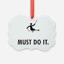 Physically-Challenge-Sled-Hockey- Ornament