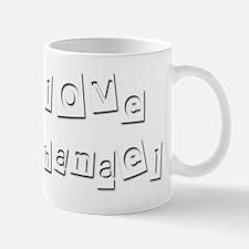 I Love Nathanael Mug
