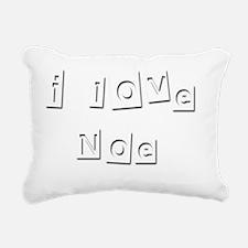 I Love Noe Rectangular Canvas Pillow