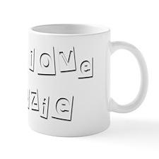 I Love Ozie Mug