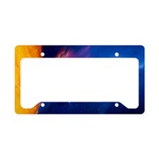 Sun and its planets License Plate Holder