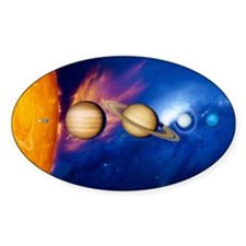 Sun and its planets Decal