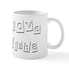 I Love Elisha Mug