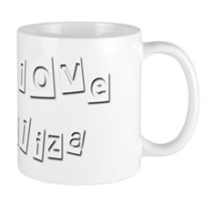 I Love Eliza Small Mug