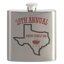 Ewing Family BBQ Flask