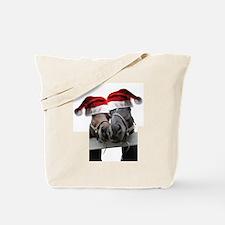 Christmas Horses In Love Tote Bag