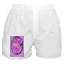 Frosted Dahlias Boxer Shorts