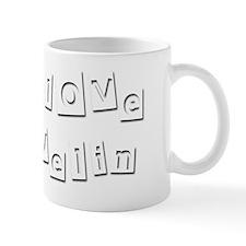 I Love Evelin Mug