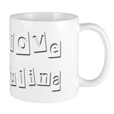 I Love Paulina Mug