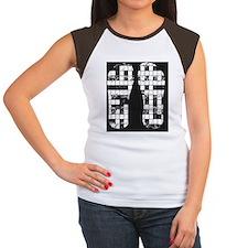 Crossword Puzzle Women's Cap Sleeve T-Shirt