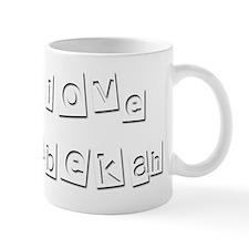 I Love Rebekah Mug