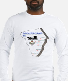 Lancaster County Pa. Long Sleeve T-Shirt