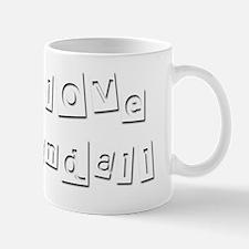 I Love Randall Mug