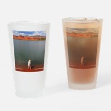 Abiquiu Angler Drinking Glass