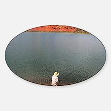 Abiquiu Angler Sticker (Oval)
