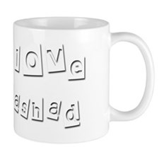 I Love Rashad Mug