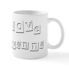 I Love Giovanna Mug