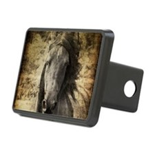 Friesian Horse Hitch Cover