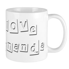 I Love Fernanda Mug