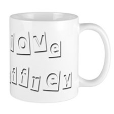 I Love Geoffrey Small Mug