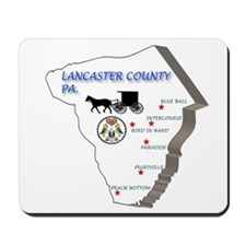 Lancaster County Pa. Mousepad