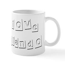 I Love Rolando Mug