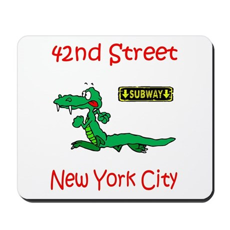 """""""CLICK HERE FOR 42ND NYC TEMS Mousepad"""