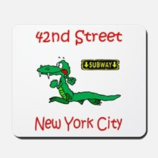 """CLICK HERE FOR 42ND NYC TEMS Mousepad"