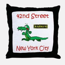 """CLICK HERE FOR 42ND NYC TEMS Throw Pillow"