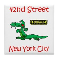 """CLICK HERE FOR 42ND NYC TEMS Tile Coaster"