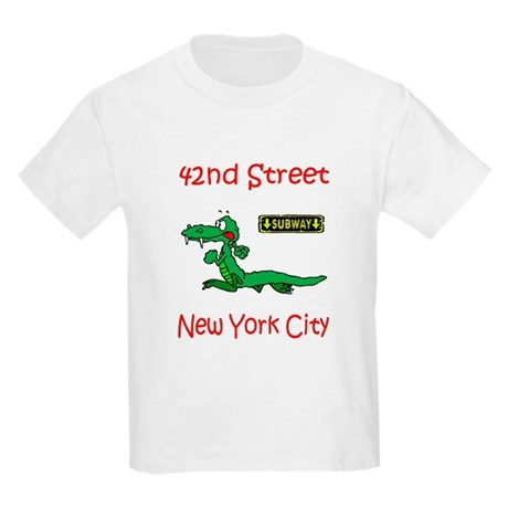 """""""CLICK HERE FOR 42ND NYC TEMS Kids Light T-Shirt"""
