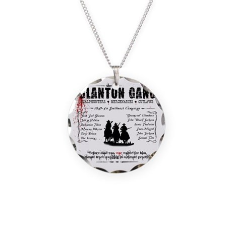 Blood Meridian Necklace Circle Charm