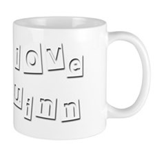I Love Quinn Small Mug