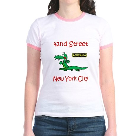 """""""CLICK HERE FOR 42ND NYC TEMS Jr. Ringer T-Shirt"""