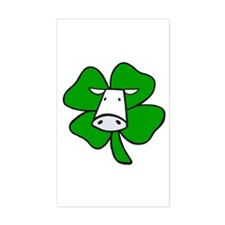 St. Paddy Cow Rectangle Decal