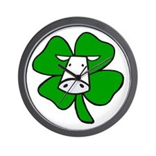 St. Paddy Cow Wall Clock
