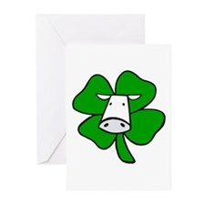 St. Paddy Cow Greeting Cards (Pk of 10)