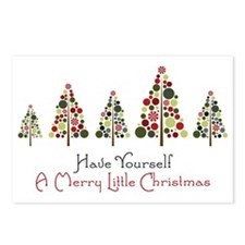 Merry Little Christmas Postcards (Package of 8)