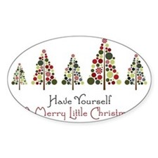 Merry Little Christmas Decal