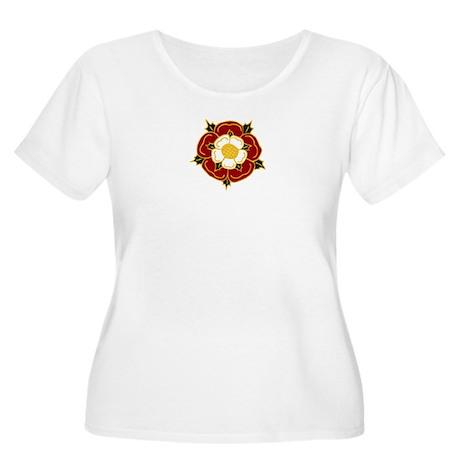 Tudor Rose Women's Plus Size Scoop Neck T-Shirt