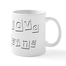 I Love Rayna Mug