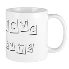 I Love Rayna Small Mug