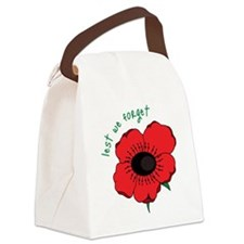 Lest We Forget Canvas Lunch Bag