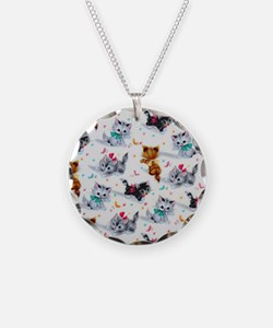 Cute Kittens Necklace