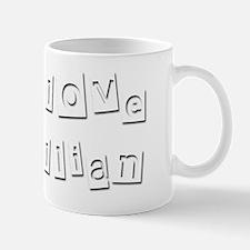 I Love Gillian Mug
