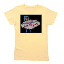 Engaged In Las Vegas Card Girl's Tee