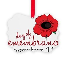 Day Of Remembrance Ornament
