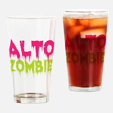 Choir Alto Zombie Drinking Glass